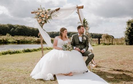 Bruiloft van Martijn & Marél
